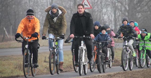 Kerékpárút a pusztában